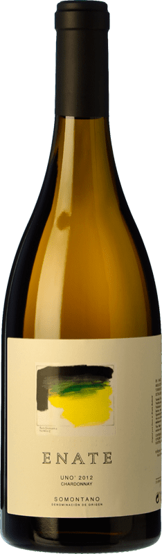 322,95 € Free Shipping | White wine Enate Uno Crianza D.O. Somontano Aragon Spain Chardonnay Bottle 75 cl