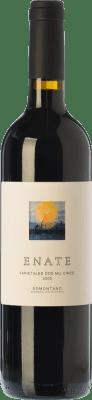 27,95 € Envío gratis | Vino tinto Enate Varietales Crianza D.O. Somontano Aragón España Tempranillo, Merlot, Cabernet Sauvignon Botella 75 cl