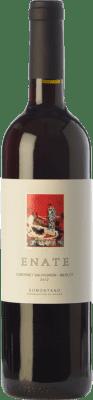 6,95 € Envío gratis | Vino tinto Enate Cabernet Sauvignon-Merlot Joven D.O. Somontano Aragón España Merlot, Cabernet Sauvignon Botella 75 cl