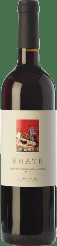 6,95 € Envoi gratuit | Vin rouge Enate Cabernet Sauvignon-Merlot Joven D.O. Somontano Aragon Espagne Merlot, Cabernet Sauvignon Bouteille 75 cl