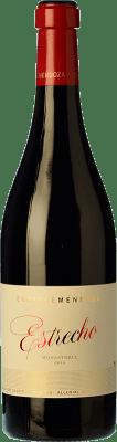 28,95 € Free Shipping | Red wine Enrique Mendoza Estrecho Crianza D.O. Alicante Valencian Community Spain Monastrell Bottle 75 cl