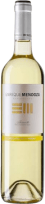 7,95 € Free Shipping | Sweet wine Enrique Mendoza Moscatel La Marina D.O. Alicante Valencian Community Spain Muscat of Alexandria Bottle 75 cl | Thousands of wine lovers trust us to get the best price guarantee, free shipping always and hassle-free shopping and returns.