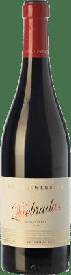 28,95 € Free Shipping | Red wine Enrique Mendoza Las Quebradas Crianza D.O. Alicante Valencian Community Spain Monastrell Bottle 75 cl