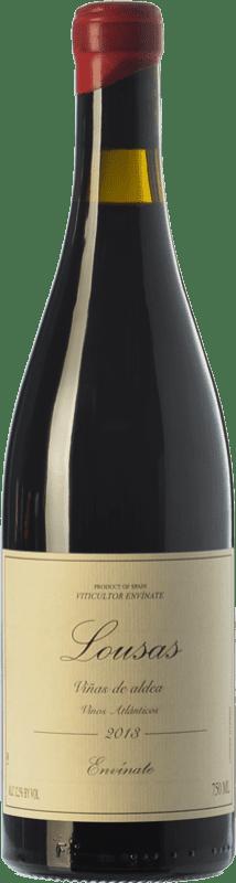 14,95 € Envío gratis | Vino tinto Envínate Lousas Viñas de Aldea Crianza D.O. Ribeira Sacra Galicia España Mencía Botella 75 cl