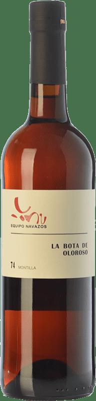 49,95 € Free Shipping | Fortified wine Equipo Navazos La Bota De Oloroso Montilla 74 D.O. Manzanilla-Sanlúcar de Barrameda Andalusia Spain Pedro Ximénez Bottle 75 cl