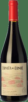 18,95 € Free Shipping | Red wine Ermita del Conde Crianza I.G.P. Vino de la Tierra de Castilla y León Castilla y León Spain Tempranillo, Merlot Bottle 75 cl