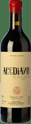 49,95 € Free Shipping | Red wine Erre Vinos Acediano Crianza D.O. Ribera del Duero Castilla y León Spain Tempranillo Bottle 75 cl