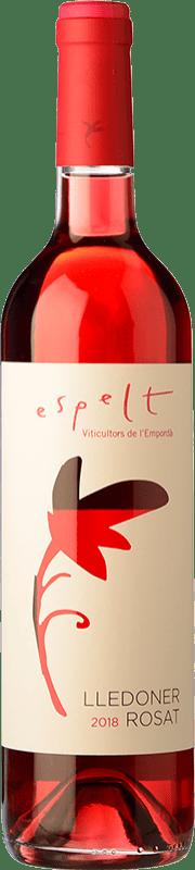 5,95 € Free Shipping | Rosé wine Espelt Lledoner Rosat D.O. Empordà Catalonia Spain Grenache Bottle 75 cl