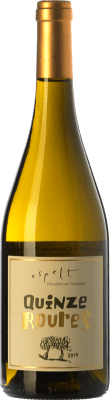 25,95 € Free Shipping | White wine Espelt Quinze Roures Crianza D.O. Empordà Catalonia Spain Grenache White, Grenache Grey Magnum Bottle 1,5 L