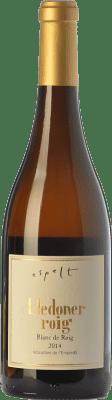 21,95 € Free Shipping | White wine Espelt Crianza D.O. Empordà Catalonia Spain Lledoner Roig Bottle 75 cl