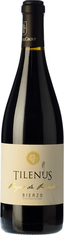 14,95 € Free Shipping | Red wine Estefanía Tilenus Pago de Posada Crianza D.O. Bierzo Castilla y León Spain Mencía Bottle 75 cl