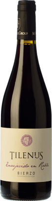 8,95 € Free Shipping | Red wine Estefanía Tilenus Roble D.O. Bierzo Castilla y León Spain Mencía Bottle 75 cl