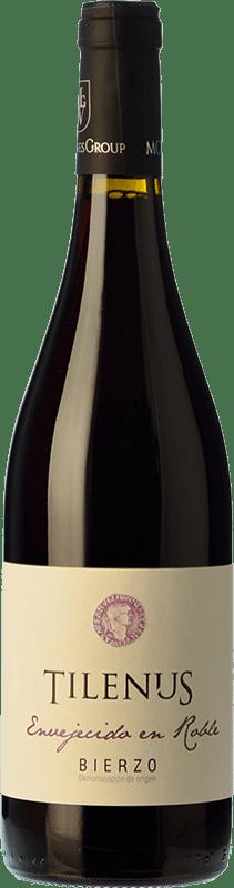 8,95 € Envoi gratuit | Vin rouge Estefanía Tilenus Roble D.O. Bierzo Castille et Leon Espagne Mencía Bouteille 75 cl
