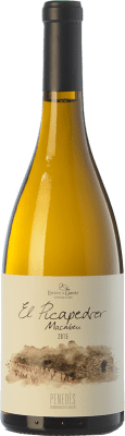 12,95 € Free Shipping | White wine Esteve i Gibert El Picapedrer Crianza D.O. Penedès Catalonia Spain Macabeo Bottle 75 cl