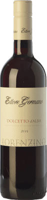 12,95 € Free Shipping | Red wine Ettore Germano Lorenzino D.O.C.G. Dolcetto d'Alba Piemonte Italy Dolcetto Bottle 75 cl