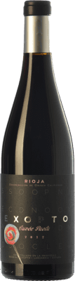 35,95 € Free Shipping   Red wine Exopto Cuvée Paola Crianza D.O.Ca. Rioja The Rioja Spain Tempranillo, Grenache, Graciano Bottle 75 cl