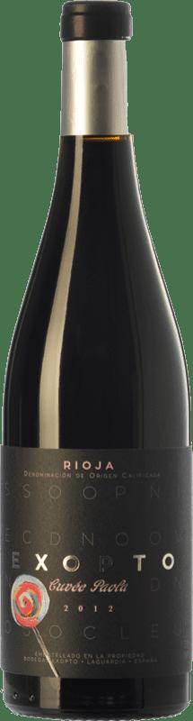 29,95 € Envoi gratuit | Vin rouge Exopto Cuvée Paola Crianza D.O.Ca. Rioja La Rioja Espagne Tempranillo, Grenache, Graciano Bouteille 75 cl