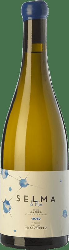 49,95 € Envío gratis | Vino blanco Nin-Ortiz Selma Crianza España Roussanne, Chenin Blanco, Marsanne, Parellada Montonega Botella 75 cl
