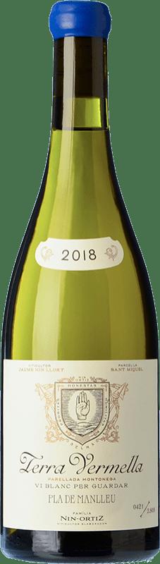 39,95 € Envío gratis | Vino blanco Nin-Ortiz Terra Vermella Crianza España Parellada Montonega Botella 75 cl