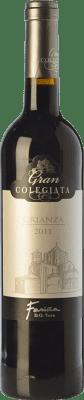9,95 € Envío gratis | Vino tinto Fariña Gran Colegiata Crianza D.O. Toro Castilla y León España Tinta de Toro Botella 75 cl
