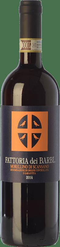 13,95 € Free Shipping | Red wine Fattoria dei Barbi D.O.C.G. Morellino di Scansano Tuscany Italy Merlot, Sangiovese Bottle 75 cl