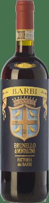 38,95 € Free Shipping | Red wine Fattoria dei Barbi D.O.C.G. Brunello di Montalcino Tuscany Italy Sangiovese Bottle 75 cl