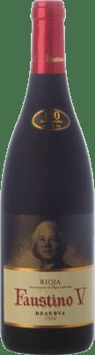 11,95 € Envoi gratuit | Vin rouge Faustino V Reserva D.O.Ca. Rioja La Rioja Espagne Tempranillo, Mazuelo Bouteille 75 cl