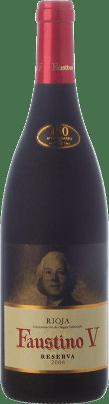 9,95 € Free Shipping   Red wine Faustino V Reserva D.O.Ca. Rioja The Rioja Spain Tempranillo, Mazuelo Bottle 75 cl