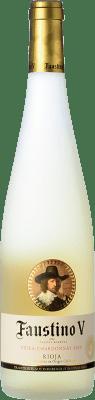 4,95 € Envoi gratuit | Vin blanc Faustino V Joven D.O.Ca. Rioja La Rioja Espagne Viura, Chardonnay Bouteille 75 cl