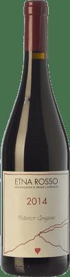 27,95 € Free Shipping | Red wine Federico Graziani Rosso D.O.C. Etna Sicily Italy Grenache, Nerello Mascalese, Nerello Cappuccio Bottle 75 cl