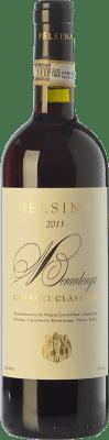 12,95 € Envío gratis | Vino tinto Fèlsina D.O.C.G. Chianti Classico Toscana Italia Sangiovese Botella Mágnum 1,5 L