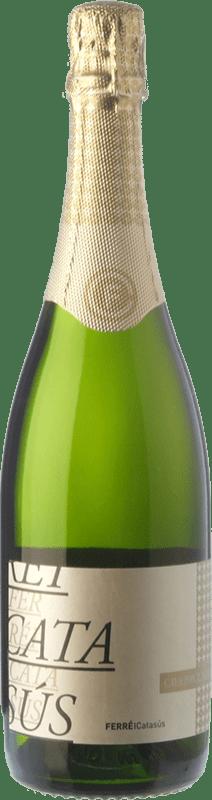 9,95 € Envoi gratuit | Blanc moussant Ferré i Catasús Brut Nature Reserva D.O. Cava Catalogne Espagne Macabeo, Xarel·lo, Chardonnay, Parellada Bouteille 75 cl | Des milliers d'amateurs de vin nous font confiance avec la garantie du meilleur prix, une livraison toujours gratuite et des achats et retours sans complications.