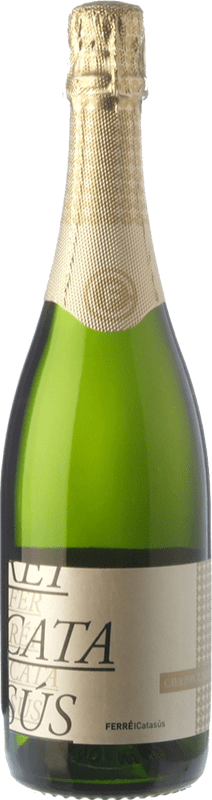 8,95 € Free Shipping | White sparkling Ferré i Catasús Brut Nature Reserva D.O. Cava Catalonia Spain Macabeo, Xarel·lo, Chardonnay, Parellada Bottle 75 cl