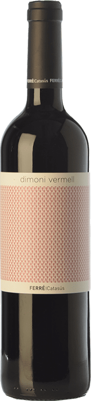 8,95 € Free Shipping | Red wine Ferré i Catasús Dimoni Vermell Joven D.O. Terra Alta Catalonia Spain Tempranillo, Syrah, Grenache, Carignan Bottle 75 cl