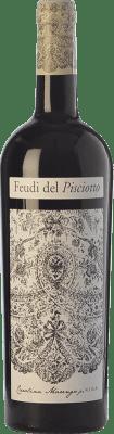 17,95 € Free Shipping | Red wine Feudi del Pisciotto Kisa I.G.T. Terre Siciliane Sicily Italy Frappato Bottle 75 cl