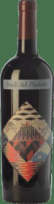 18,95 € Free Shipping | Red wine Feudi del Pisciotto Cabernet Missoni I.G.T. Terre Siciliane Sicily Italy Cabernet Sauvignon Bottle 75 cl