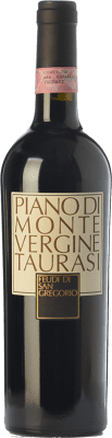 43,95 € Envío gratis | Vino tinto Feudi di San Gregorio Piano di Montevergine D.O.C.G. Taurasi Campania Italia Aglianico Botella 75 cl