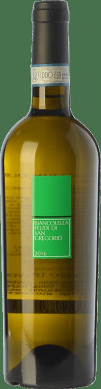 14,95 € Envío gratis | Vino blanco Feudi di San Gregorio D.O.C. Ischia Campania Italia Biancolella Botella 75 cl