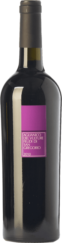 13,95 € Envoi gratuit | Vin rouge Feudi di San Gregorio D.O.C. Aglianico del Vulture Basilicate Italie Aglianico Bouteille 75 cl