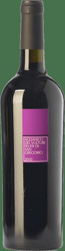 13,95 € Envío gratis | Vino tinto Feudi di San Gregorio D.O.C. Aglianico del Vulture Basilicata Italia Aglianico Botella 75 cl