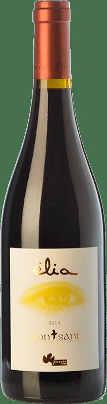 16,95 € Free Shipping | Red wine Ficaria Èlia Crianza D.O. Montsant Catalonia Spain Syrah, Grenache, Cabernet Sauvignon Bottle 75 cl