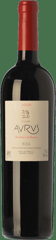 288,95 € Envío gratis | Vino tinto Allende Aurus Reserva 1996 D.O.Ca. Rioja La Rioja España Tempranillo, Graciano Botella Mágnum 1,5 L