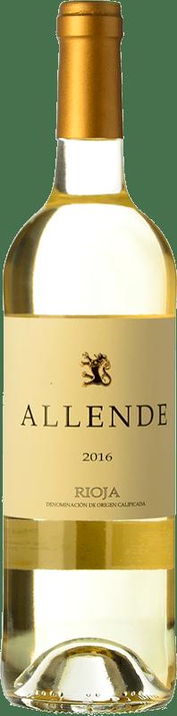 18,95 € Envío gratis | Vino blanco Allende Crianza D.O.Ca. Rioja La Rioja España Viura, Malvasía Botella 75 cl