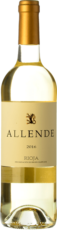 18,95 € Free Shipping | White wine Allende Crianza D.O.Ca. Rioja The Rioja Spain Viura, Malvasía Bottle 75 cl