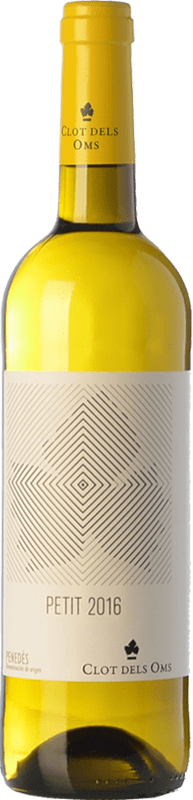 4,95 € Envío gratis   Vino blanco Ca N'Estella Petit Clot dels Oms Blanc Joven D.O. Penedès Cataluña España Macabeo, Xarel·lo Botella 75 cl