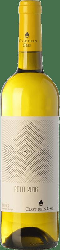 4,95 € Free Shipping | White wine Ca N'Estella Petit Clot dels Oms Blanc Joven D.O. Penedès Catalonia Spain Macabeo, Xarel·lo Bottle 75 cl
