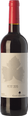 5,95 € Free Shipping | Red wine Ca N'Estella Petit Clot dels Oms Negre Joven D.O. Penedès Catalonia Spain Merlot, Cabernet Sauvignon Bottle 75 cl