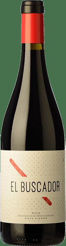 9,95 € Free Shipping | Red wine Finca de la Rica El Buscador Crianza D.O.Ca. Rioja The Rioja Spain Tempranillo, Grenache Bottle 75 cl