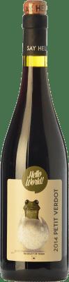 7,95 € Envoi gratuit | Vin rouge Finca La Estacada Hello World Joven I.G.P. Vino de la Tierra de Castilla Castilla La Mancha Espagne Petit Verdot Bouteille 75 cl
