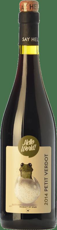 4,95 € Envoi gratuit | Vin rouge Finca La Estacada Hello World Joven I.G.P. Vino de la Tierra de Castilla Castilla La Mancha Espagne Petit Verdot Bouteille 75 cl